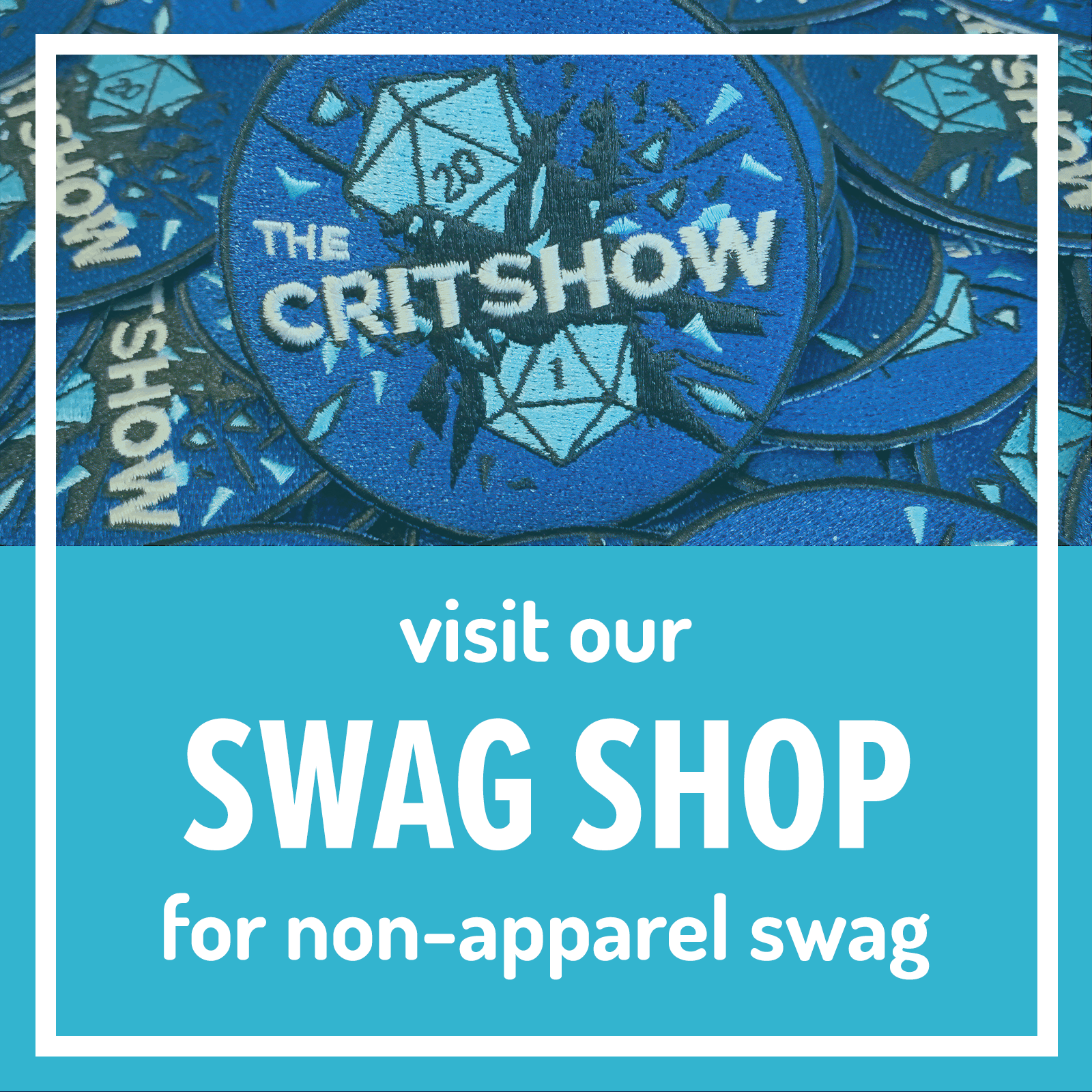 the Swag Shop for non-apparel swag